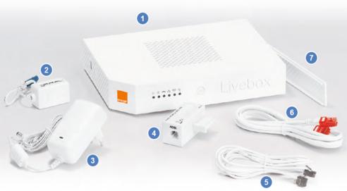 Livebox 2 : présentation du pack